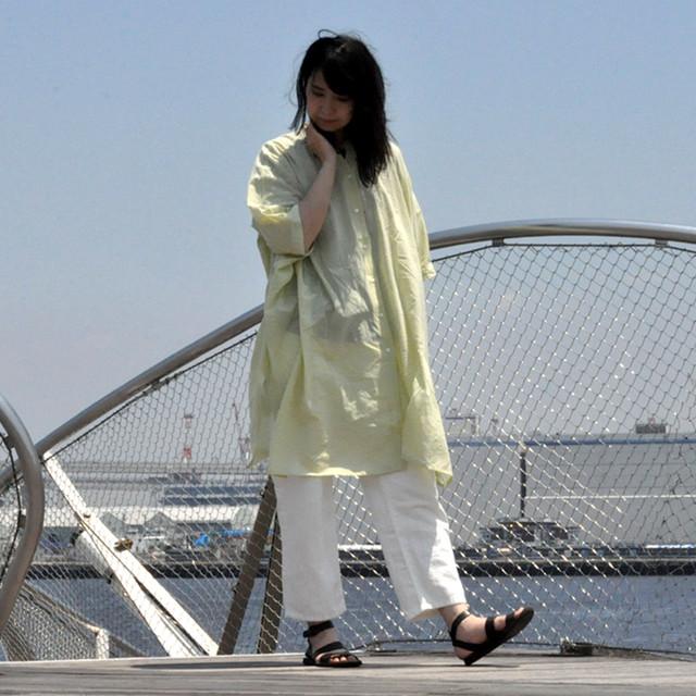pot-pourri - cotton long shirt -