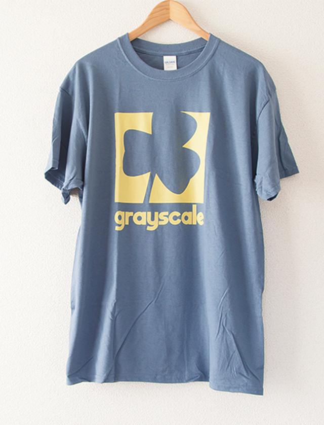 【GRAYSCALE】Clover T-Shirts (Indigo)
