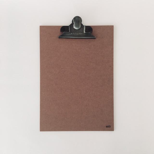 オランダのクリップボード A4(ピンク) Clip Board A4 Pink