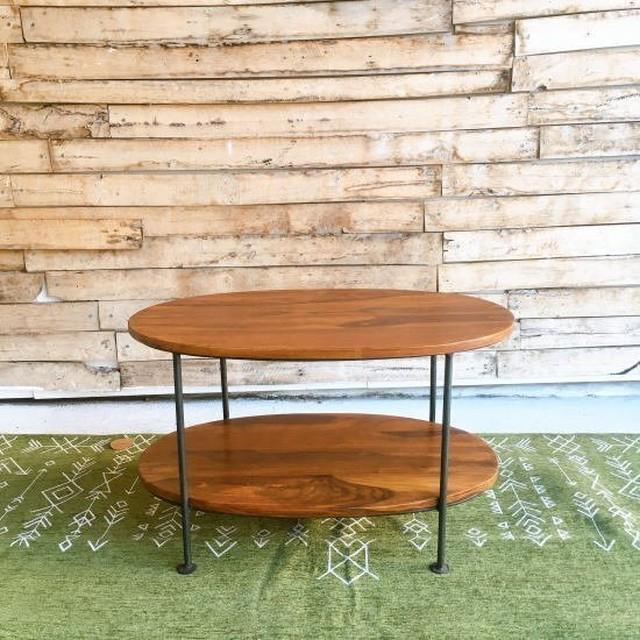 シーシャムウッド オーバルテーブル