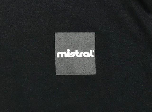 ミストラル ユニセックス [ ミストラル 半袖Tシャツ - エブリー - ] BLACK