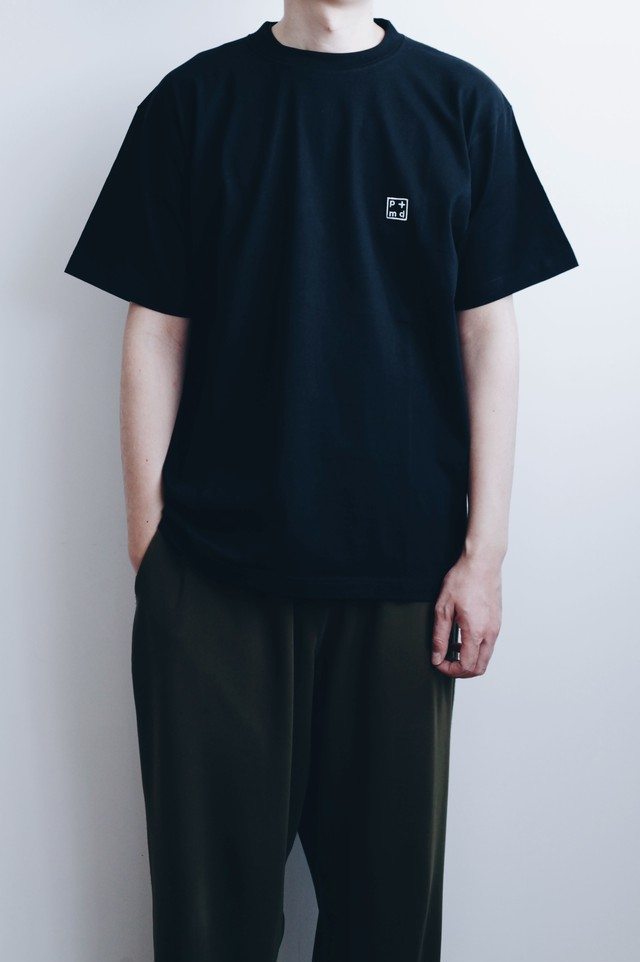 【POET MEETS DUBWISE(ポエトミーツダブワイズ)】PMD+ Embroidery T-Shirt
