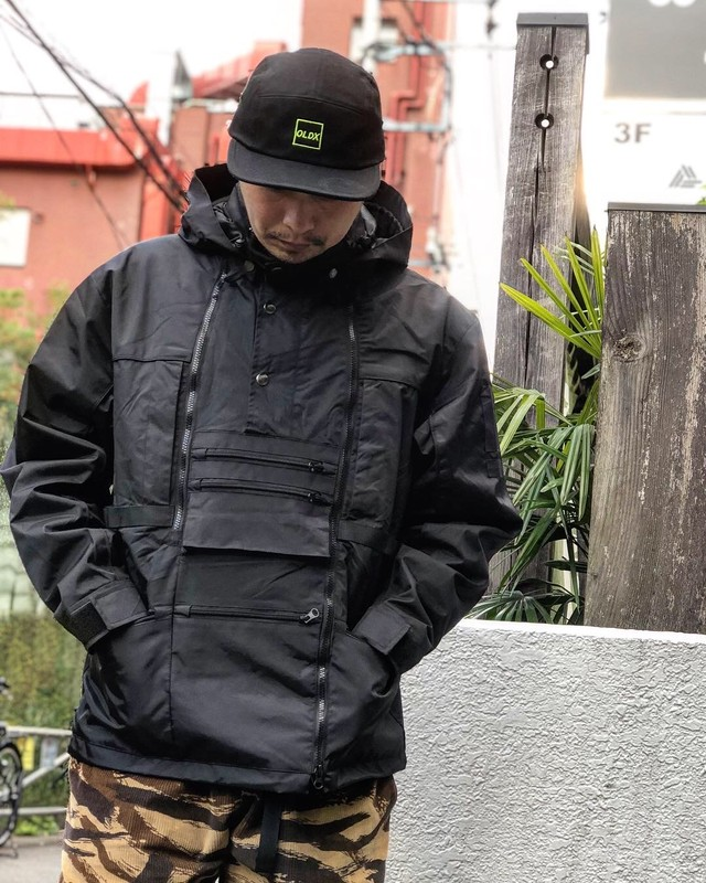 Nylon MT jacket