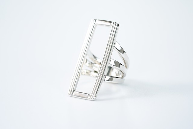 R-055  See through square ring