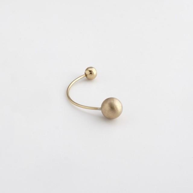 adachiyukari. / ピアス ele e/P-1 gold