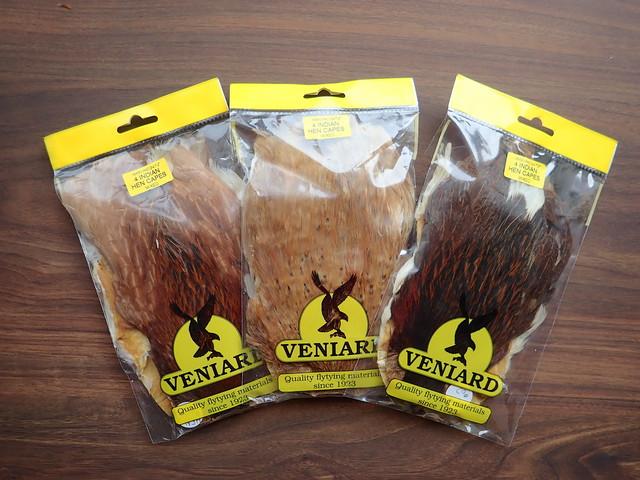 Veniards Indian Hen Cape 4pcs. Packs / ビニヤード ヘンケープ 4枚セット