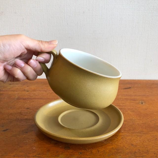 Denbyスープカップ&ソーサー
