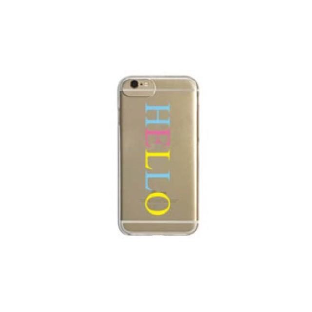 【HELLO】color iPhoneケース