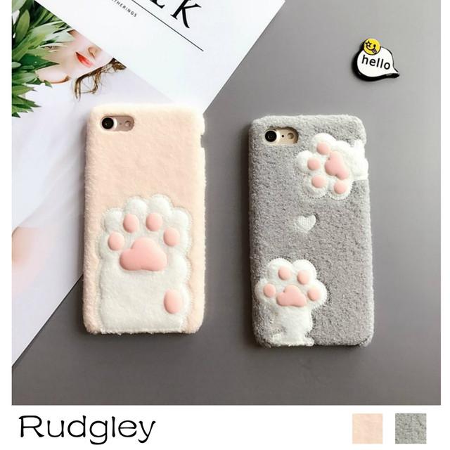 即納 iphone7s/7plus iphone6s/6plus iphone5s/5plusケース 肉球 猫 ネコ アニマルカバー 可愛い case7