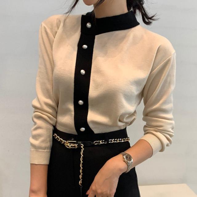 シングルブレスト セーター【R0553】
