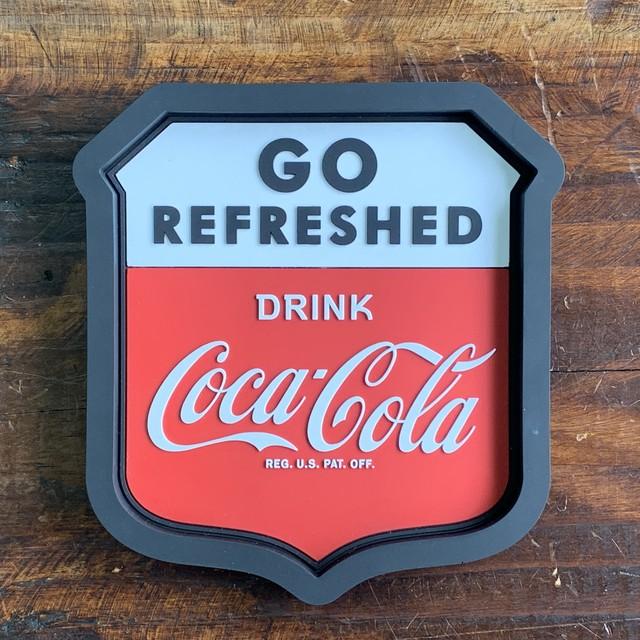 コカ・コーラ・ラバートレイ・アクセサリー入れ・小物入れ・クリップホルダー - GO