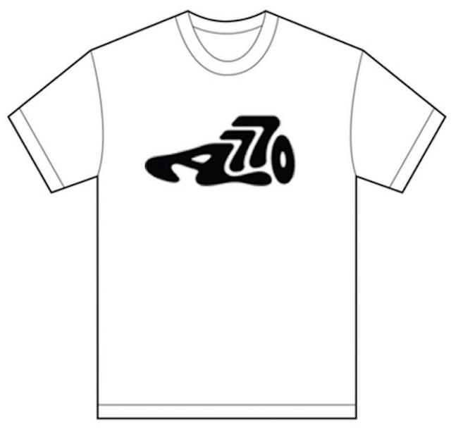 AOKICKS big logo T-shirt (white)