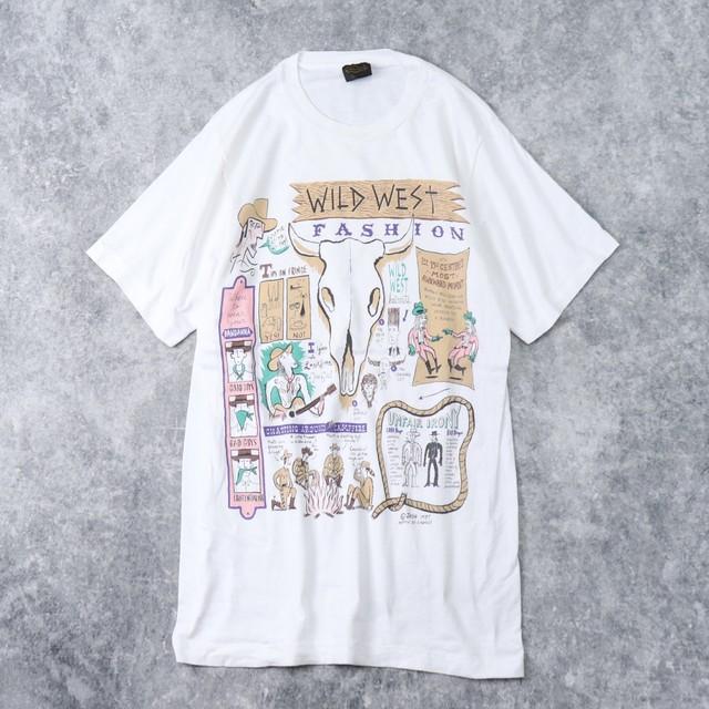 80年代 USA製 Tシャツ カウボーイT A193