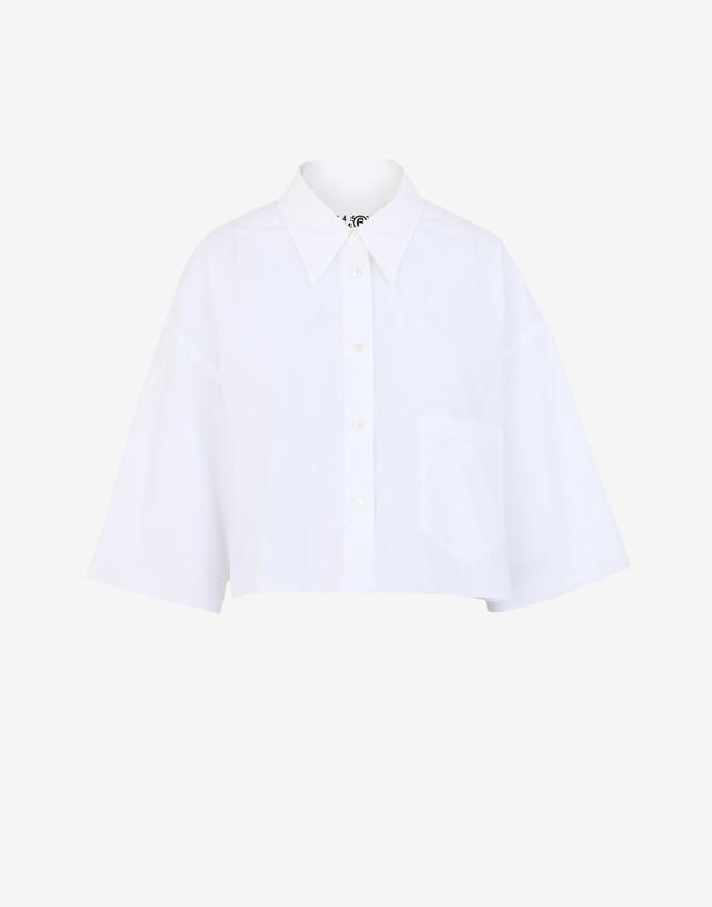【MM⑥】《21SS》クロップドシャツ S62DL0043S47294100