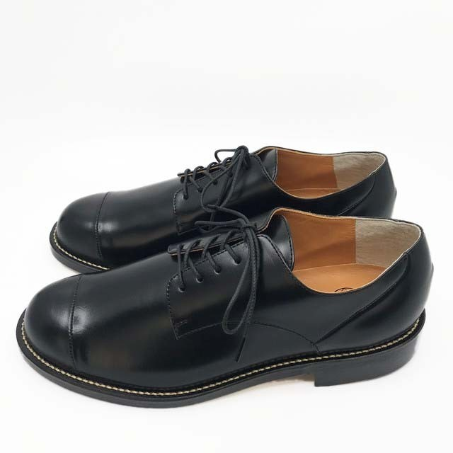steer blucher shoes/BLK,DBR/l.o.b/l.o.b19-1L1T04【即納】【受注生産】