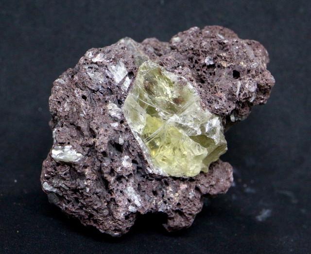 オレゴン サンストーン  母岩付き 48g SUN040  鉱物 天然石 原石