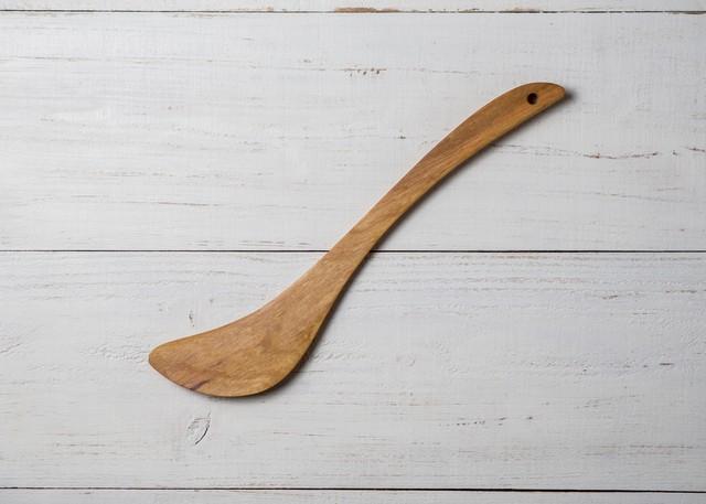 調理用木べら 月形 ヤマザクラ材(木ベラ・炒めへら)/Canaria Wood Works