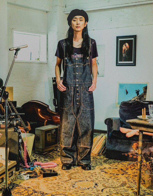 "SUGARHILL""SELVIDGE DENIM OVERALL"""