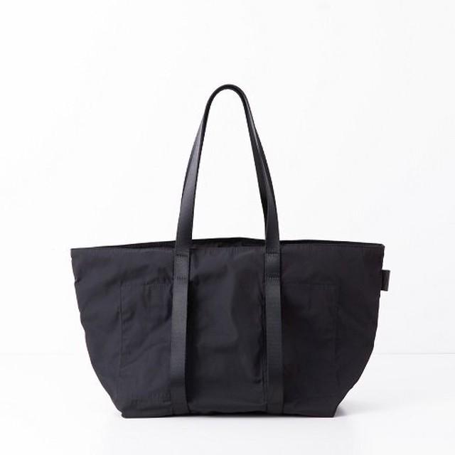 AMIACALVA(アミアカルヴァ) /Gabardine Tote(M) -BLACK-
