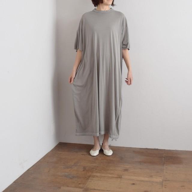COSMIC WONDER   コズミックワンダー オーガニックコットン カットソードレス Beautiful Organic cotton T-shirt dress 11CW17191 light sumikuro