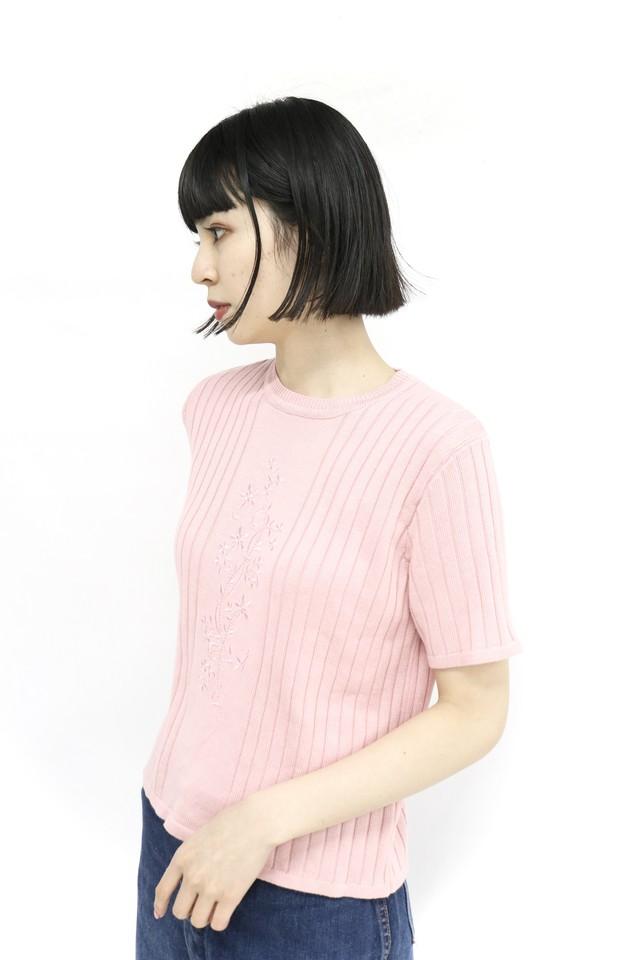 front design knit / 4SSTP22-12