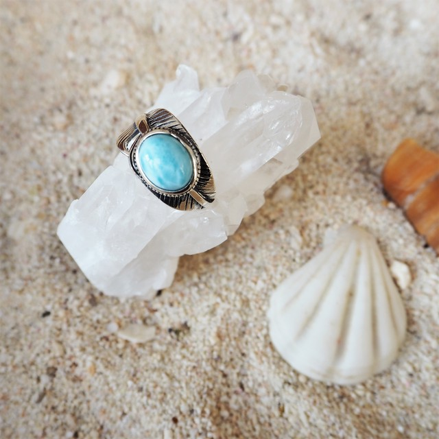 Larimar Heather Ring #7