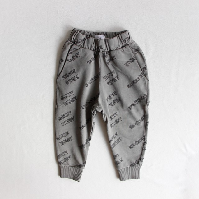 《WOLF & RITA 2020SS》 AMADEU Trousers / RUDY RUBY GREY