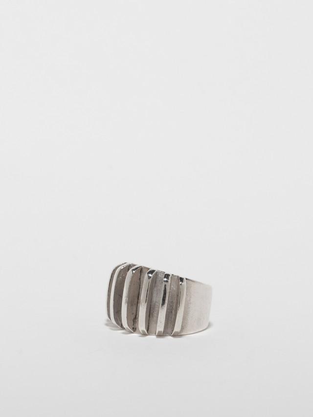 Ridged Ring / Anna Greta Eker