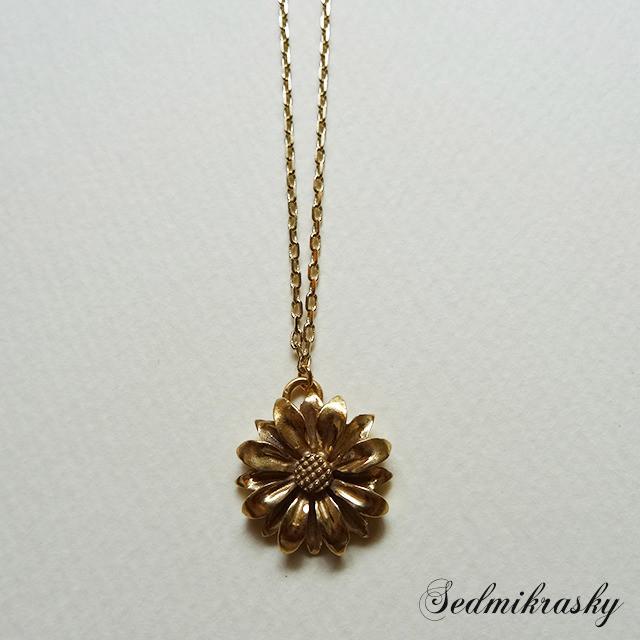 Sedmikrasky Necklace / Gold