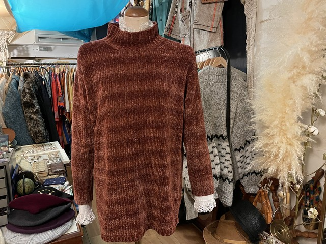 US old loop yarn knit sweater