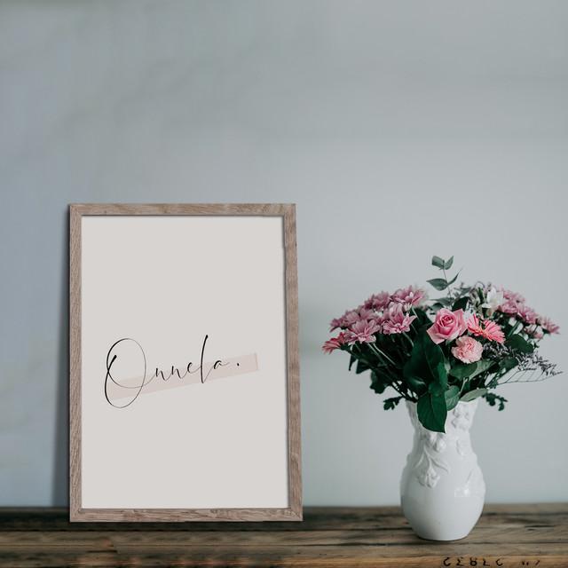 Onnela(オンネラ)/ T036 / 北欧ポスター