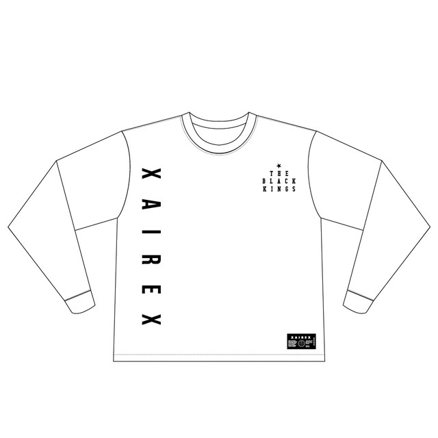 XAIREX MAD L/S (WHITE)[XAI-0030]