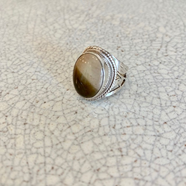 silver ring/ポリクロームジャスパー