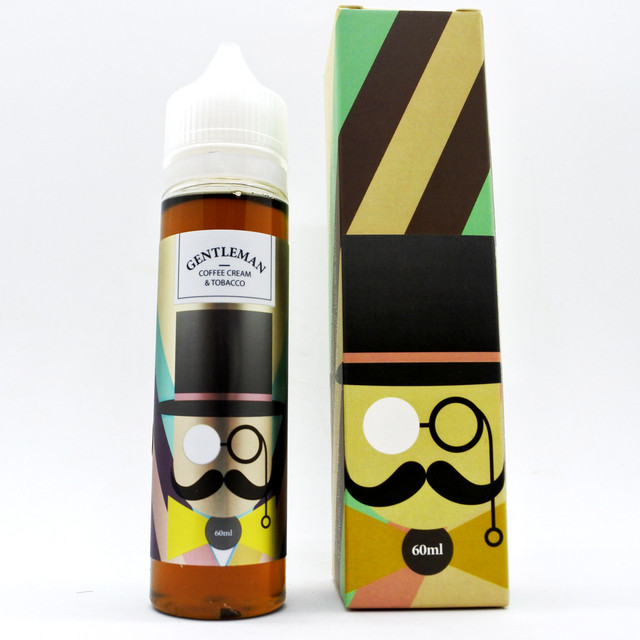 BASIC VAPOR GENTLEMAN 60ml COFFEE CREAM&TOBACCO