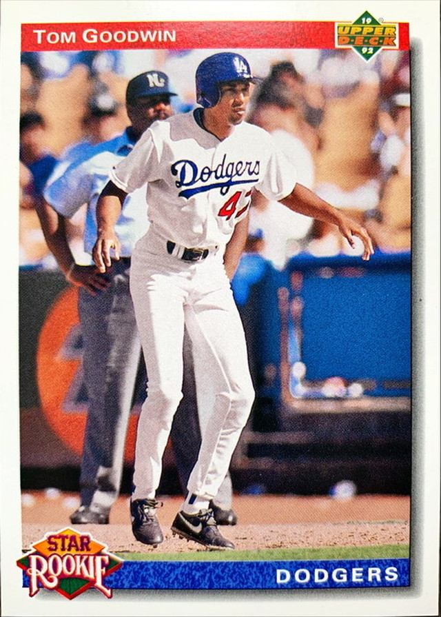 MLBカード 92UPPERDECK Tom Goodwin #020 DODGERS Rookie Card