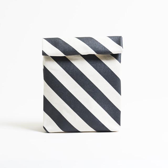 kamibukuro/black × stripe カミブクロ / 墨 x 縞