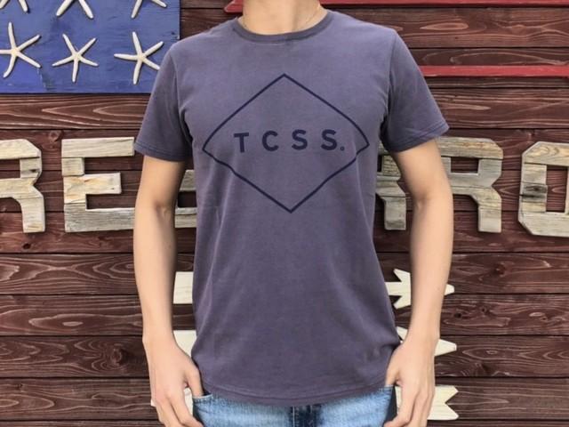 TCSS STANDARD TEE (purple × navy)