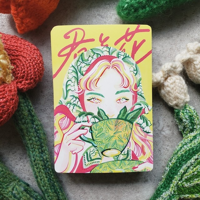POST CARD 【lily of the valley】