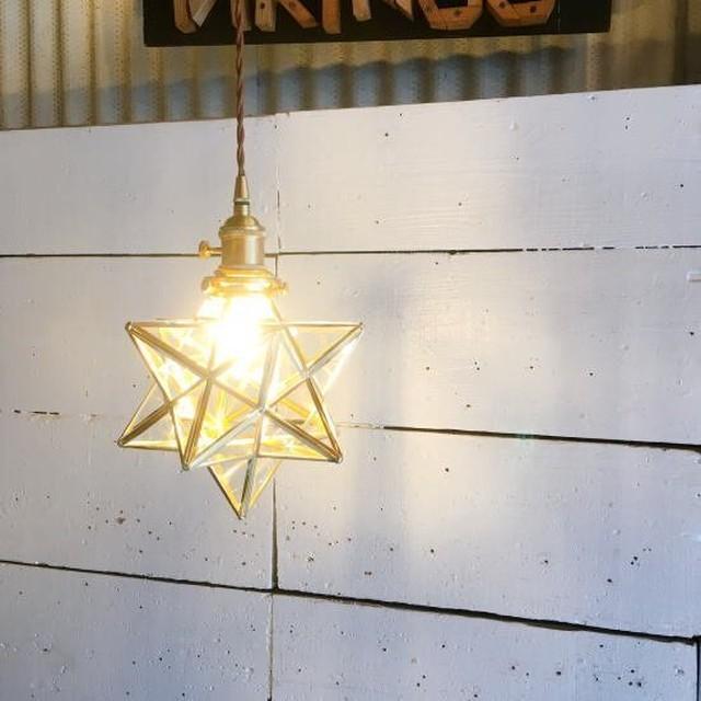 TOPANGA Lighting Little Star Lamp クリアガラス