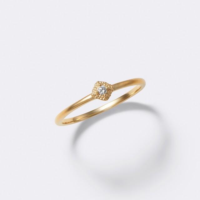 ENUOVE Spuma Ring K18YG(イノーヴェ スプーマリング K18イエローゴールド)
