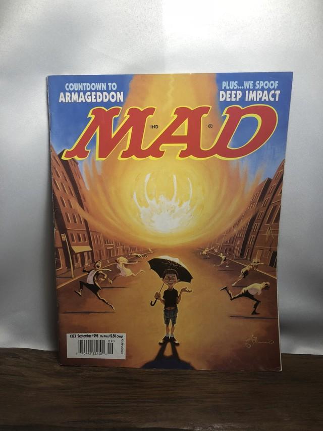 アメコミ【MAD MAGAZINE】90s マッドマガジン 雑誌 AC071
