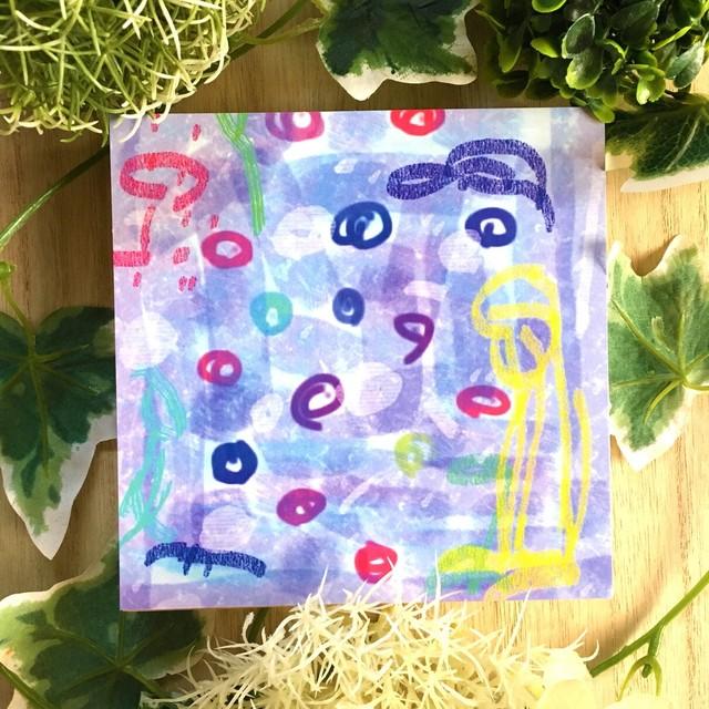 絵画 インテリア アートパネル 雑貨 壁掛け 置物 おしゃれ アブストラクトアート ロココロ 画家 : YUTA SASAKI 作品 : 小さな祈り