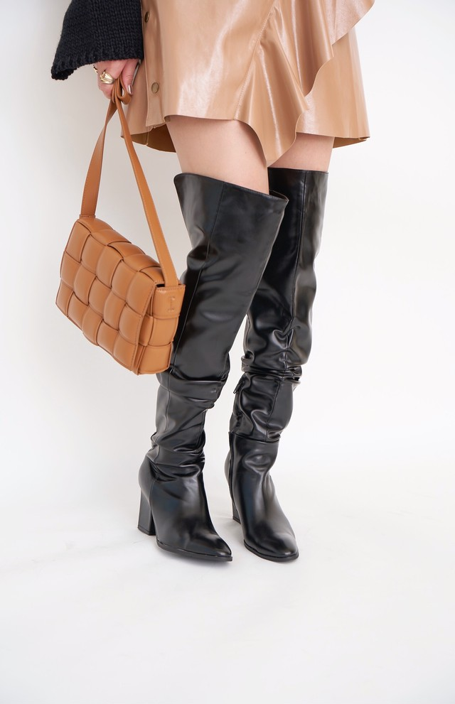 Loose Knee High Boots