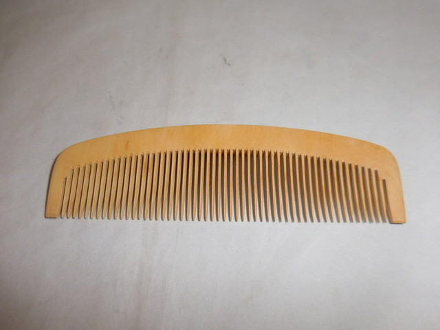 柘植の櫛 comb of boxwood(No3)