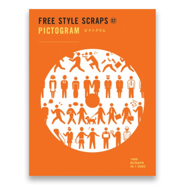 FREE STYLE SCRAPS 02 PICTOGRAM ピクトグラム