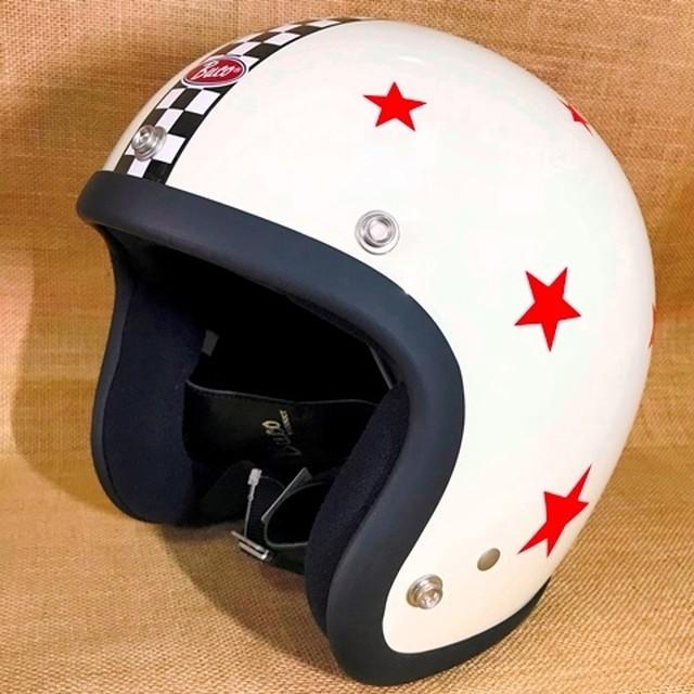 MOTO BUCO モトブコ ヘルメット ゴールデンストライプ ベイビーブコ SM