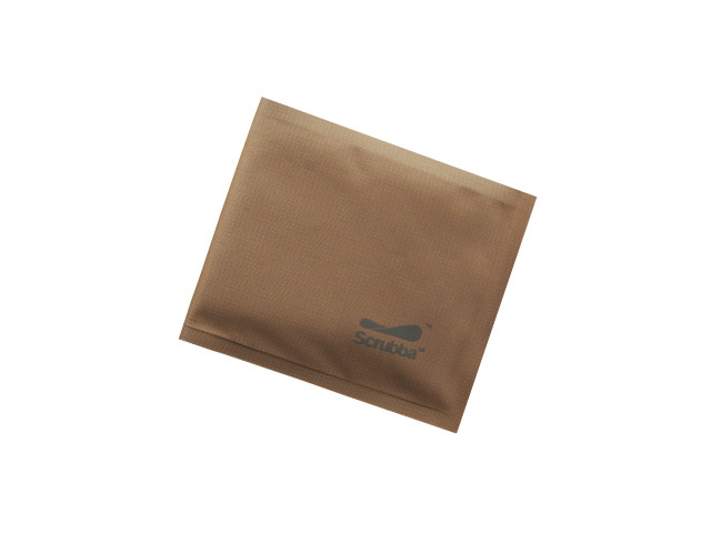 【SCRUBBA】 Weightless Wallet(Brown)