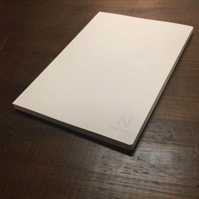 ノンブルノート「N」表紙カスタマイズ用:白