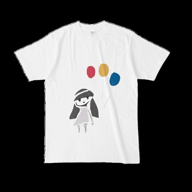 ふきだし子/風船*Tシャツ
