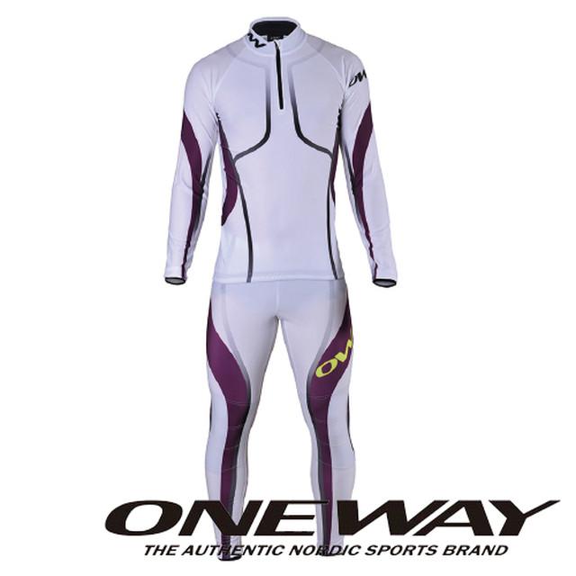 ONE WAY クロスカントリースキー オーバージャージ レディース スゥーン オーバージャージセット マゼンダ ow711276-635
